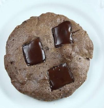 Cookie Low Carb de Microondas