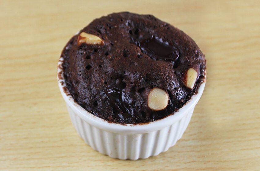 Brownie Pronto em 1 Minuto