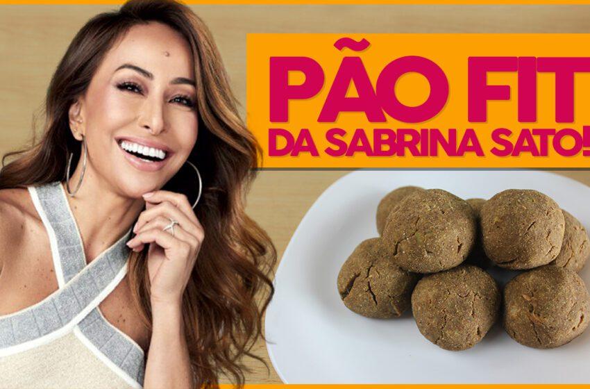 Pão Fit de Batata da Sabrina Sato