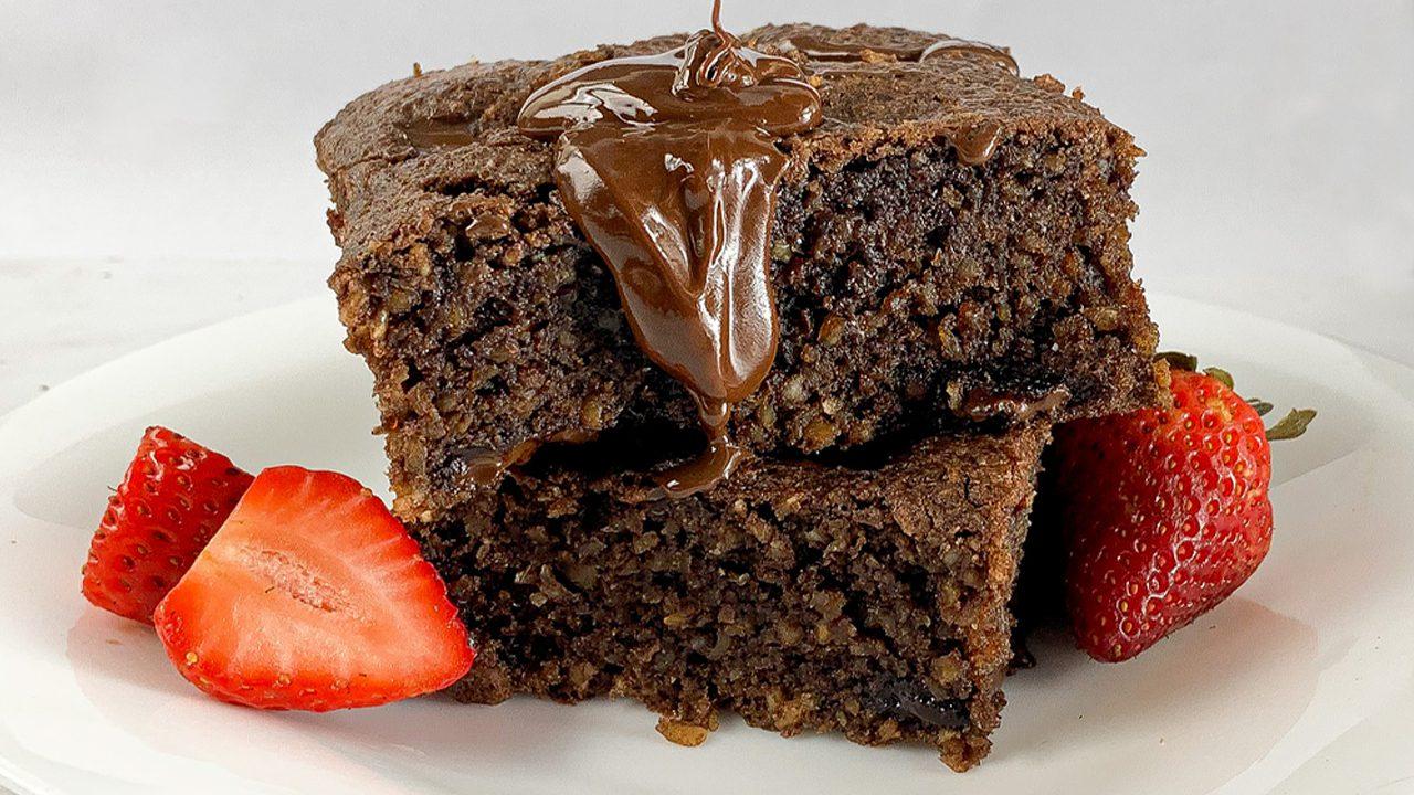 Brownie Low Carb Sem Açúcar