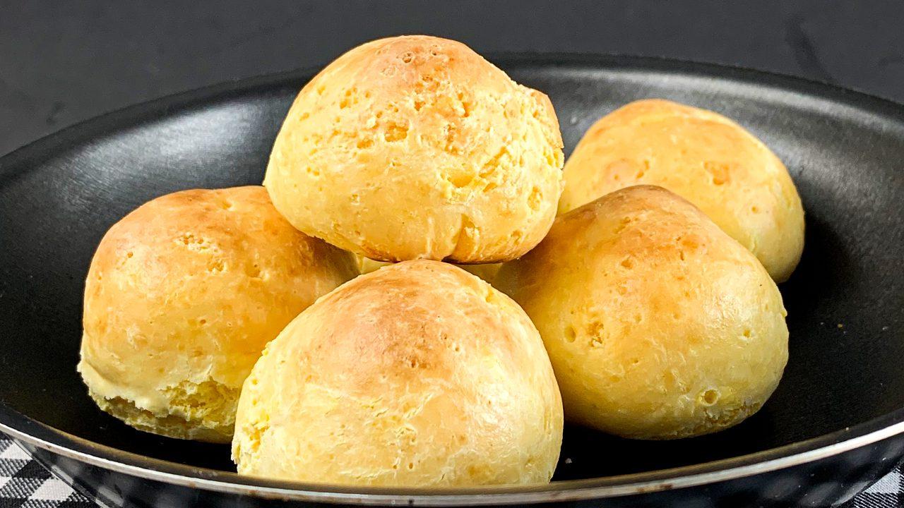 Pão de 3 Ingredientes