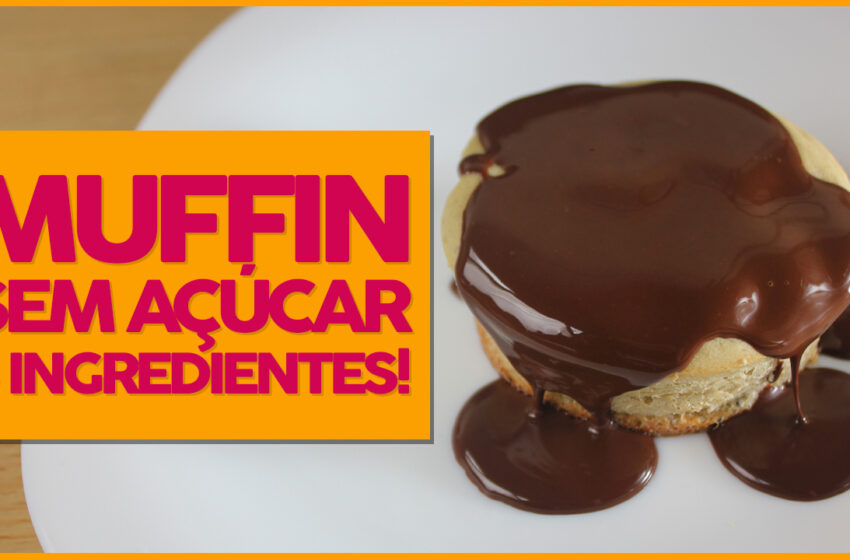 Muffin Fit com 3 Ingredientes